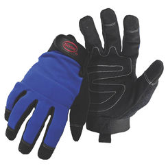 Click here to see Boss 5205X Boss 5205X Blue Mechanic Gloves, Synthetic Leather, X-Large