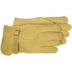 Click here to see Boss 6023J Boss 6023J Driver Gloves, X-Large, Premium Grain Leather, Gold, Unlined Lining