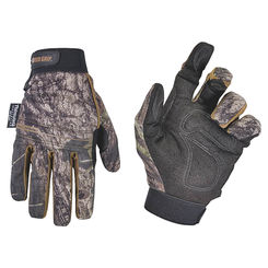 Click here to see CLC ML125L Custom Leathercraft ML125L Timberline Gloves, Synthetic Leather, L