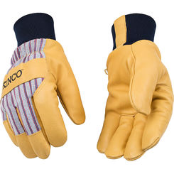 Click here to see Kinco 1927KW-M Kinco 1927KW-M Medium Lined Grain Pigskin Leather Palm Gloves