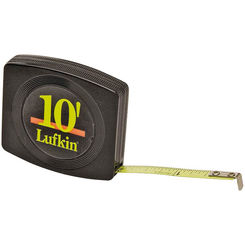 Click here to see Lufkin W6110 Lufkin W6110 Single Side Measuring Tape, 10ft x 1/4\