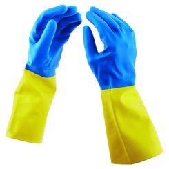 Click here to see Spontex 11953 Spontex 11953 Protector Gloves, Rubber, Large