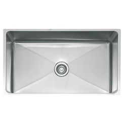 Click here to see Franke PSX110339 Franke PSX110339 Single Bowl Undermount Stainless Undermount Sink - Stainless