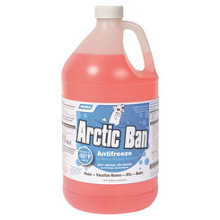 Click here to see Camco 30807 Arctic Ban 30807 RV Anti-Freeze, 1 gal, Clear, Liquid