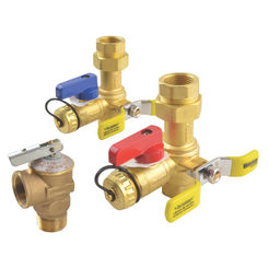 Click here to see Rheem RTG20220AB Rheem RTG20220AB Service Valve Kit, For Use With Rheem Gas Tankless Water Heaters, Brass