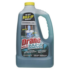 Click here to see Drano 70240 Drano Max 70240 Build-Up Remover, 64 oz, Green, Liquid
