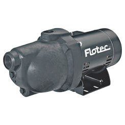 Click here to see Flotec FP4012-10 Flotec FP4012-10 Shallow Well Jet Pump, 1/2 hp, 1-1/4 in NPT Inlet, 1 in NPT Outlet, 230/115 V, 60 Hz, 9.4 A