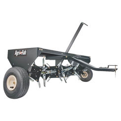 Click here to see Agri-Fab 45-0299 Agri-Fab 45-0299 Plug Lawn Aerator, 48 in Working, 3 in Aeration, 140 lb, Steel