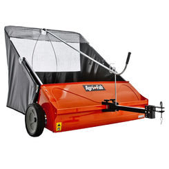 Click here to see Agri-Fab 45-0492 Agri-Fab 45-0492 Tow-Behind Lawn Sweeper, 44 in Working, 25 cu-ft