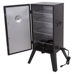 Click here to see Char-Broil 11201677 Char-Broil 11201677 Vertical Electric Smoker, 504 sq-in, Black