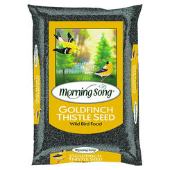 Click here to see Global Harvest 1658 Scotts Morning Song 1022282 Goldfinch Thistle Seed, 20 lb, Bag