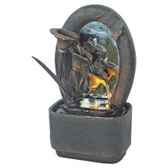 Click here to see Seasonal Trends Y95513 Seasonal Trends Y95513 Table Top Fountain, 3.94 in L x 5.91 in W x 10.04 in H