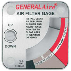 Click here to see General Filters G99 General Aire G99 Media Air Cleaner Filter Gauge