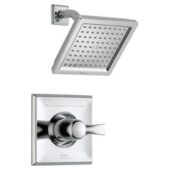 Click here to see Delta T14251-WE Delta T14251-WE Dryden Chrome Monitor Shower Trim Only