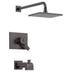 Click here to see Delta T17453-RB-WE Delta T17453-RB-WE Vero Venetian Bronze Monitor Tub/Shower Trim