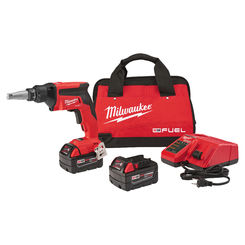 Click here to see Milwaukee 2866-22 MILWAUKEE 2866-22 M18 FUEL Drywall Screw Gun Kit