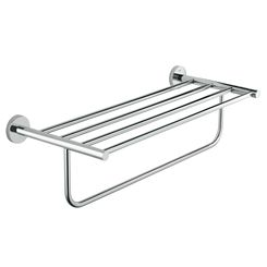 Click here to see Grohe 40462001 Grohe 40462001  Bau Cosmopolitan Multi-Towel Rack , StarLight Chrome