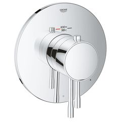 Click here to see Grohe 19987001 Grohe 19987001 GrohFlex Single Function Thermostatic Valve Trim, Chrome