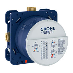 Click here to see Grohe 35601000 Grohe 35601000 Rapido SmartBox 1/2-Inch Universal Rough-In Valve
