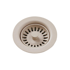 Click here to see Elkay LKQS35PT Elkay Polymer Drain Fitting with Removable Basket Strainer and Rubber Stopper Putty - LKQS35PT