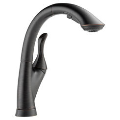 Click here to see Delta 4153-RB-DST Delta 4153-RB-DST Linden One Handle Pulldown Kitchen Faucet - Venetian Bronze