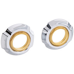 Click here to see Delta RP61289 Delta RP61289 Addison Flange Assembly for Widespread - Chrome