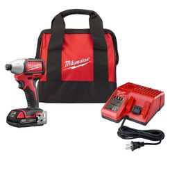 Click here to see Milwaukee  Milwaukee 2750-21P M18 Brushless Compact Impact Driver Kit