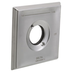 Click here to see Delta RP52586SS Delta RP52586SS Delta Escutcheon - Tub and Shower (Stainless)