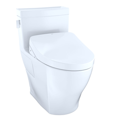Click here to see Toto MW6243056CEFG#01 TOTO MW6243056CEFG#01 Legato WASHLET+ One-Piece Toilet w/ Modern S550e - Cotton White