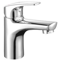 Click here to see Delta 534LF-HGM-PP Delta 534LF-HGM-PP Modern Single Handle Project Pack Bathroom Faucet - 0.5 gpm, Chrome