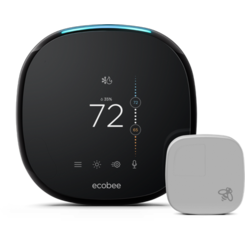 Click here to see Ecobee EB-STATE4P-01 ecobee4 Smart Thermostat w/ Built-In Alexa and Room Sensor - EB-STATE4-01