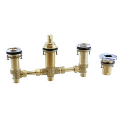 Click here to see Toto TBN01202U#CP Toto TBN01202U#CP Polished Chrome Four-Hole Roman Tub Filler Rough-In Valve