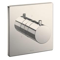 Click here to see Toto TBV02103U#PN TOTO TBV02103U#PN 2-Way Diverter Valve Trim - Polished Nickel, Square