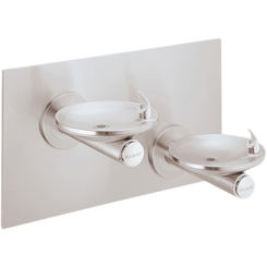 Click here to see Elkay EDFPBM117C Elkay EDFPBM117C - SwirlFlo Bi-Level Fountain - Non-Filtered, Non-Refrigerated, Stainless