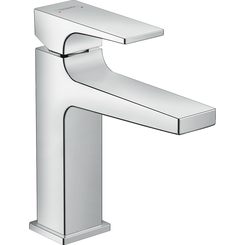 Click here to see Hansgrohe 32506001 Hansgrohe 32506001 Metropol Single-Hole Faucet 110 with Lever Handle and Pop-Up Drain, Chrome