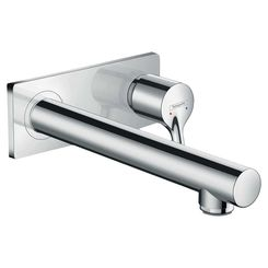 Click here to see Hansgrohe 72111001 Hansgrohe 72111001 Talis S Wall-Mounted Single-Hole Faucet Trim, Chrome