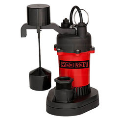 Click here to see Red Lion 14942741 Red Lion 14942741 RL-SP33V 1/3 HP RL-SP Thermoplastic Sump Pump with Vertical Float Switch
