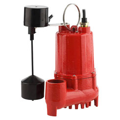 Click here to see Red Lion 14942747 Red Lion 14942747 RL-SC50V 1/2 HP Cast Iron Sump Pump with Vertical Float Switch