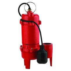 Click here to see Red Lion 14942748 Red Lion 14942748 RL-WC50TA Cast Iron Sewage Pump - 1/2 HP