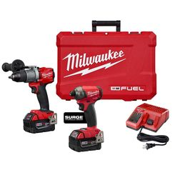 Click here to see   MILWAUKEE 2999-22 M18 FUEL 2-TOOL COMBO KIT
