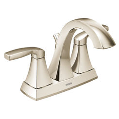 Click here to see Moen 6901NL Moen 6901NL Voss Two-Handle High Arc Bathroom Faucet, Polished Nickel