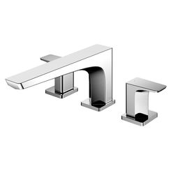 Click here to see Toto TBG07201U#CP TOTO GE Two-Handle Deck-Mount Roman Tub Filler Trim, Polished Chrome - TBG01201U#CP