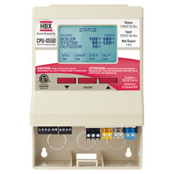 Click here to see HBX CPU-0550 HBX CPU-0550 Stand Alone Boiler Control Up to 3 Stages