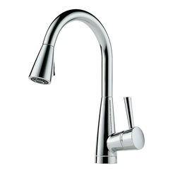 Click here to see Brizo 63070LF-PC Brizo 63070LF-PC Venuto Polished Chrome Kitchen Pulldown Faucet