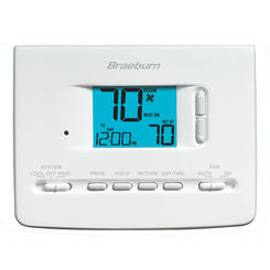 Click here to see Braeburn 2020NC Braeburn 2020NC Universal 7 Day/5-2 Day/Non-Programmable 1H/1C Thermostat