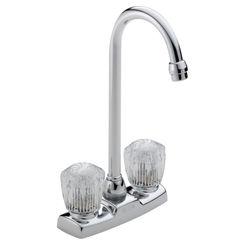 Click here to see Delta 2170LF Delta Classic 2170LF Chrome 2 Handle Bar/Prep Faucet
