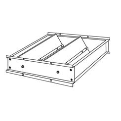 Click here to see Shoemaker 3530-19X19 19X19 Horizontal Mount Air Down Pressure Relief Damper (Aluminum) - Shoemaker 3530