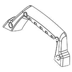 Click here to see Milwaukee 31-44-3225 Milwaukee 31-44-3225 Carrying Handle Right