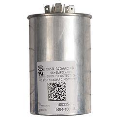 Click here to see Lennox 89M93 LENNOX 89M93 100335-28 CAPACITOR 55+5 @ 370