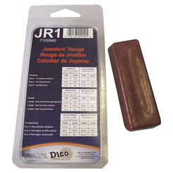 Click here to see Dico 7100940 Dico RedLion Buffing Compound, Small clampshell Jewelers Rouge